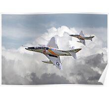 Douglas  Skyhawk A4 - Scooter Poster