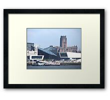 LIVERPOOL WATER FRONT Framed Print