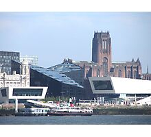 LIVERPOOL WATER FRONT Photographic Print