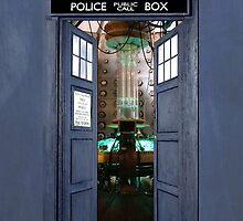 The Tardis - Doors Open by nologic
