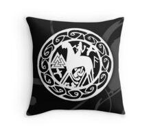 """Odin"" Throw Pillow"