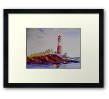 all along the watch tower Framed Print