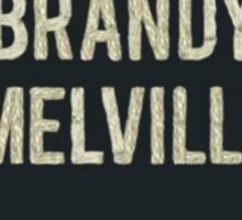 Brandy Melville Sticker Sticker