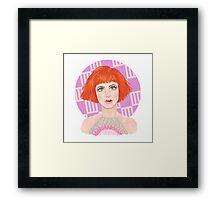 HW #12 Framed Print