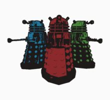 Pop Daleks Kids Tee