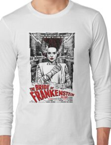 Bride of Frankenstein. Elsa Lanchester. Movie. Horror.  Long Sleeve T-Shirt