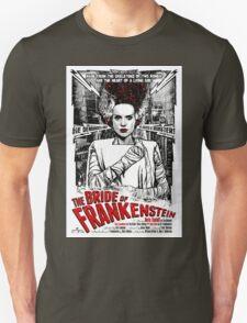 Bride of Frankenstein. Elsa Lanchester. Movie. Horror.  Unisex T-Shirt