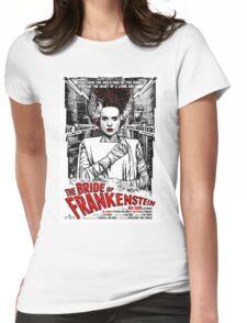 Bride of Frankenstein. Elsa Lanchester. Movie. Horror.  Womens Fitted T-Shirt