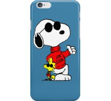 Woodstock and Snoopy are Cool  iPhone Case/Skin