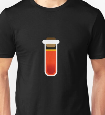 Color tubes Red Unisex T-Shirt