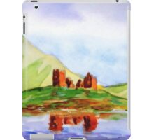 scenic scottish castle iPad Case/Skin