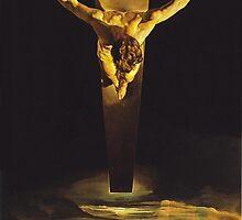 Christ of Saint John of the Cross by aforceofnature