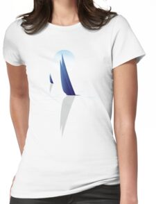 Night Sail Womens Fitted T-Shirt
