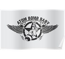 atom bomb baby pinup Poster