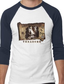 RF Life's Greatest Treasure Best Friends Men's Baseball ¾ T-Shirt