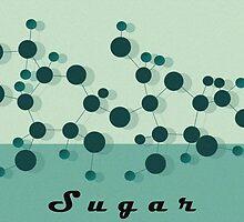 Sugar Molecule by Katepaulos