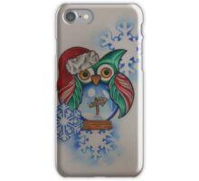 Owl Snow Globe North Pole iPhone Case/Skin