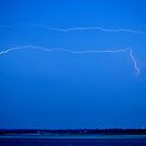 Beach Lightning by Stacy Brooks Photography