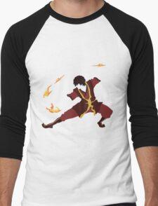 Zuko Men's Baseball ¾ T-Shirt