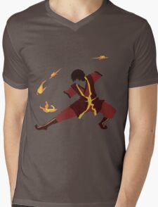 Zuko Mens V-Neck T-Shirt
