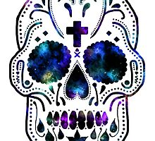 Nebula Skull by lydiagill