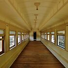 Train Car  by Barbara Morrison