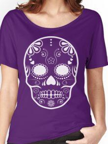 sugar skull Women's Relaxed Fit T-Shirt