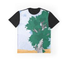 Tree in Hayfield Graphic T-Shirt