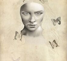 Kore with Butterflies - Methamorphosis by Claudia D.