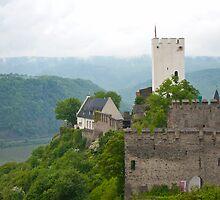 Castle on the Rhein by Cathy Jones
