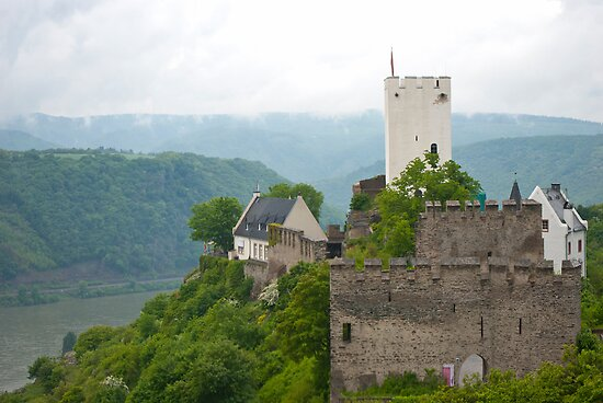 Castle on the Rhein by Cathy Jones