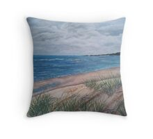Hervey Bay Foreshore Throw Pillow