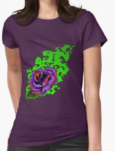 Nuclear Rose Womens Fitted T-Shirt
