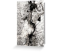 APPEARING IN PLASTER GREETING CARD Greeting Card