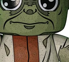 Yoda w/ Napoleon Complex Sticker