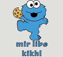 cookie monster in Yiddish Unisex T-Shirt
