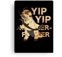 YIP YIP MOTHER F**KER Canvas Print