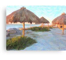Gulf Park Canvas Print