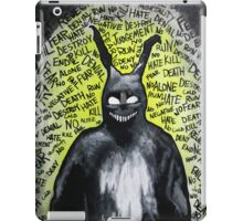 Why are you wearing that stupid man suit? iPad Case/Skin