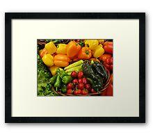 Variety Framed Print