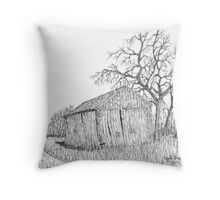 Machine Shed Throw Pillow