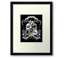 Dragon Training Crest - How to Train Your Dragon Framed Print