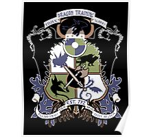 Dragon Training Crest - How to Train Your Dragon Poster