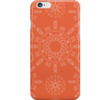 Monogram pattern (B) in Koi iPhone Case/Skin