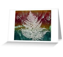 Printmaking: Forthcoming Fern Greeting Card