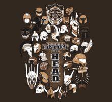 Helmets of fandom - respect the head! T-Shirt