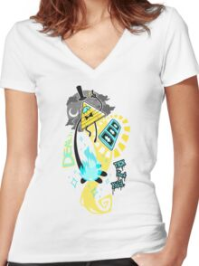 """""""The Deal"""" Women's Fitted V-Neck T-Shirt"""