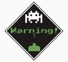 Space Invaders Placard by W4rnings