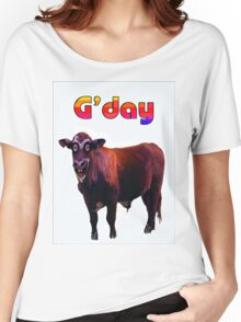 G'DAY Women's Relaxed Fit T-Shirt