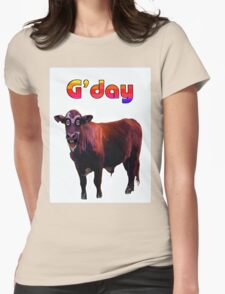 G'DAY Womens Fitted T-Shirt